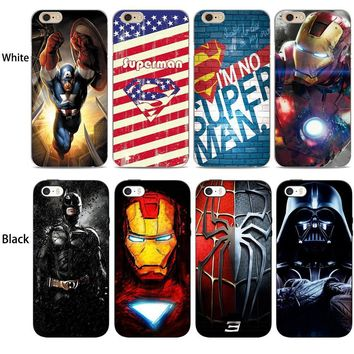 Deadpool Dead pool Taco  iron Man Superman Marvel Avengers Phone Soft Silicone Case Cover For Apple iPhone X 7 7Plus 8 8Plus 6S 6Plus 5S SE AT_70_6