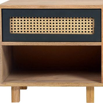 Ashton Nightstand Mid-Century Modern Natural