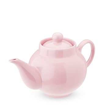 REGAN LIGHT PINK CERAMIC TEAPOT & INFUSER
