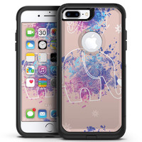 Fun Sacred Elephants - iPhone 7 or 7 Plus Commuter Case Skin Kit