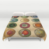 ATLAS Duvet Cover by hardkitty