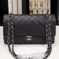 """Chanel"" women shopping shoulder bag female inclined shoulder bag black G-3A-XNRSSNB"