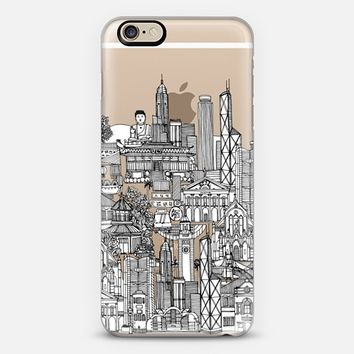 Hong Kong toile de jouy transparent iPhone 6s case by Sharon Turner | Casetify