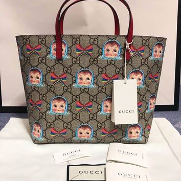 GUCCI Women / Girls GG kids tote