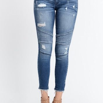 Kan Can Moto Skinny Jeans