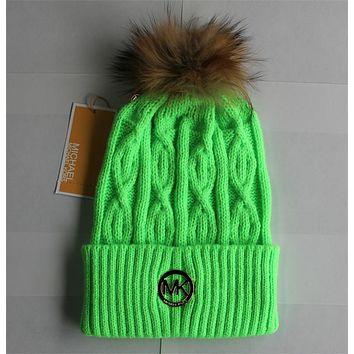 """Michael Kors"" Women Men Embroidery Beanies Knit Hat Warm Woolen Hat"