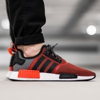 "Best Online Sale Adidas NMD R1 City Pack ""Los Angeles"" S79158 Boost Sport Running Shoes Classic Casual Shoes Sneakers"