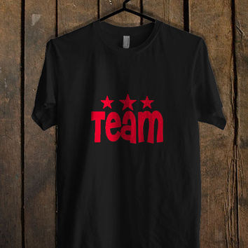 Team Bride A T Shirt Mens T Shirt and Womens T Shirt *