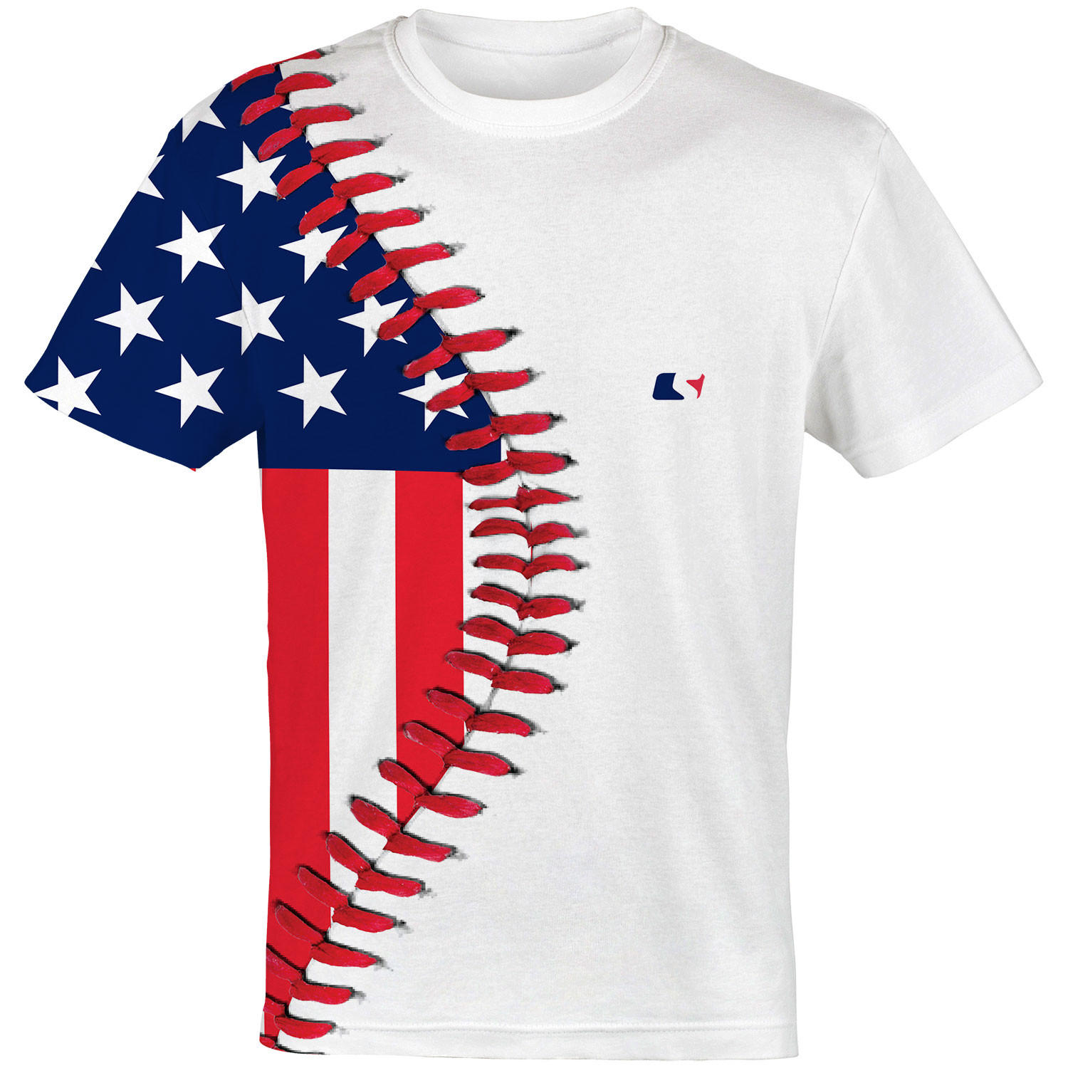 Baseball Lace Usa Baseball Jersey From Sleefs Chase ⚾️⚾️🇺🇸🇺🇸