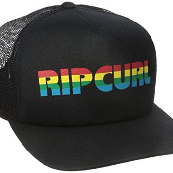 Rip Curl Men's Big Mama Trucker Hat, Black, One Size