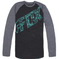 Fox Hagerman Tech Raglan T-Shirt - Mens Tee - Black