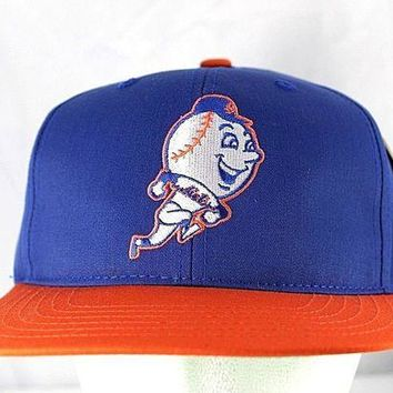 DCK4S2 New York Mets Blue/Orange MLB Baseball Cap Snapback