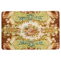Baroque pattern floor mat