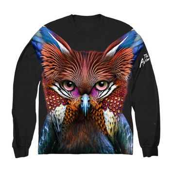 Galantis 'Aviary' Cut & Sew Long Sleeve Tee