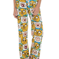 Adventure Time Finn & Jake Plush Lounge Pants