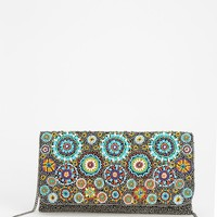 From St. Xavier Iris Beaded Clutch - Urban Outfitters
