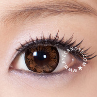 GEO morning Glory Brown Circle Lenses Colored Contacts Cosmetic Color Circle Lens | EyeCandy's