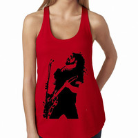 Dave Grohl Foo Fighters Red Tank Top, Lady Women Fit Tee, Sweater Hoodie Tshirt Tank Top