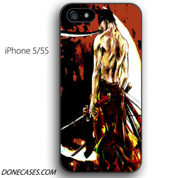 zoro one piece iPhone 5 / 5S Case