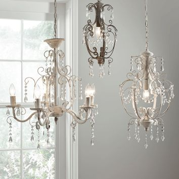 Small Juliet Chandelier - Grey - Indoor Living