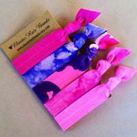 The Carolina Hair Tie -Ponytail Holder Collection by Elastic Hair Bandz on Etsy