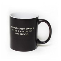 I Solemnly Swear...Mischief Managed Heat Transforming Mug |