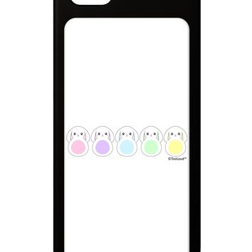 Cute Pastel Bunnies iPhone 5 / 5S Grip Case  by TooLoud