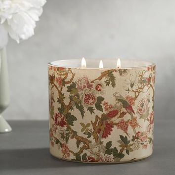 Homescent Candle Pot - French Peony