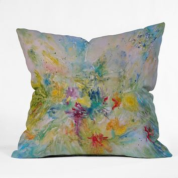 Rosie Brown Spring Burst Outdoor Throw Pillow