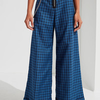 The Ragged Priest Lewis Plaid Wide-Leg Pant | Urban Outfitters