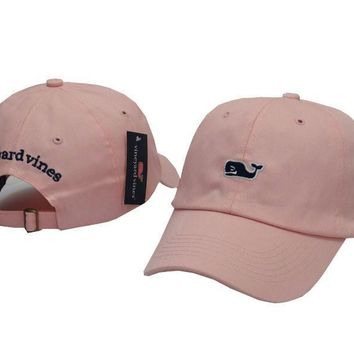 Vineyard Vines Women Men Embroidery Sports Sun Hat Baseball Cap Hat-2