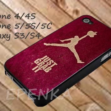 jordan just doit, nike case, iphone 4/4S/5/5S/5C, Samsung Galaxy S3/S4, iPod Touch 4/5