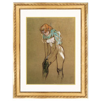 Toulouse-Lautrec, Her Stocking, 1894, Paintings
