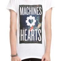 Crown The Empire Machines Hearts Girls T-Shirt