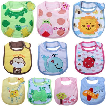 Cartoon Baby Bandana Bibs Waterproof Cotton Babador Carters Kids Dinning Bib Bandana Bibs Baberos Infant Burp Cloths = 1930133316