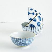 ModCloth Boho My Fare Lady Bowl Set