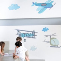 Fancy Flight Fabric Wall Decals