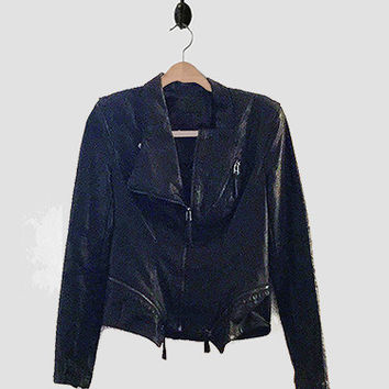 Women's BLANK NYC Vegan Leather Moto Jacket