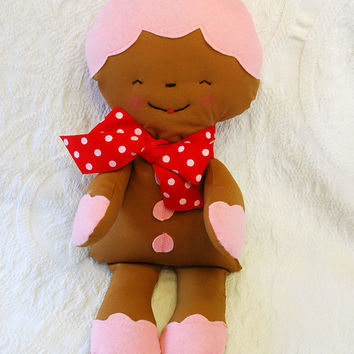 Christmas Chocolate Cookie Soft Plush Rag by BoutiqueVintage72