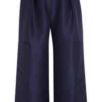 Roksanda - Cotton and silk-blend culottes