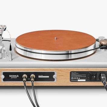 The Rose Gold Runwell Turntable