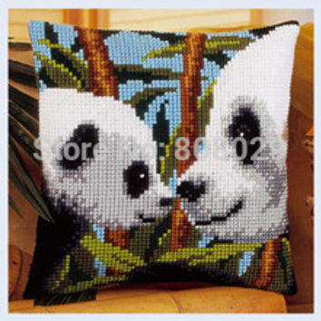 CX0017, Crafts Cushion  Printed Cross Stitch Kits Tapestry pillow KIT Home Decorative Pillows Needlework cushion