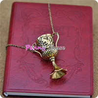 Harry potter Horcrux transformation Hufflepuff's Cup necklace
