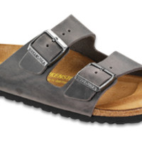 Arizona Iron Oiled Leather Sandals | Birkenstock USA Official Site
