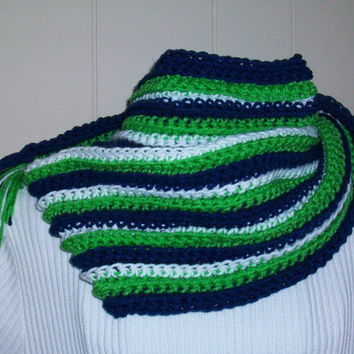 Multicolored Scarf and Beanie Set