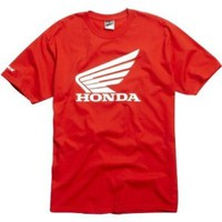 FOX HONDA T-SHIRT RED MD