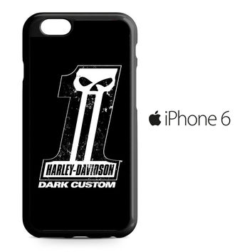 Harley Davidson Dark Custom iPhone 6 Case
