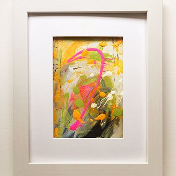 006 Original Abstract  Art on Paper. Free-shipping within USA.