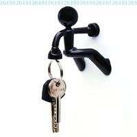Key Pete Strong Magnetic Key Holder Hook Rack Magnet - Black:Amazon:Home & Kitchen