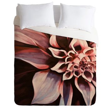 John Turner Jr Flower Duvet Cover